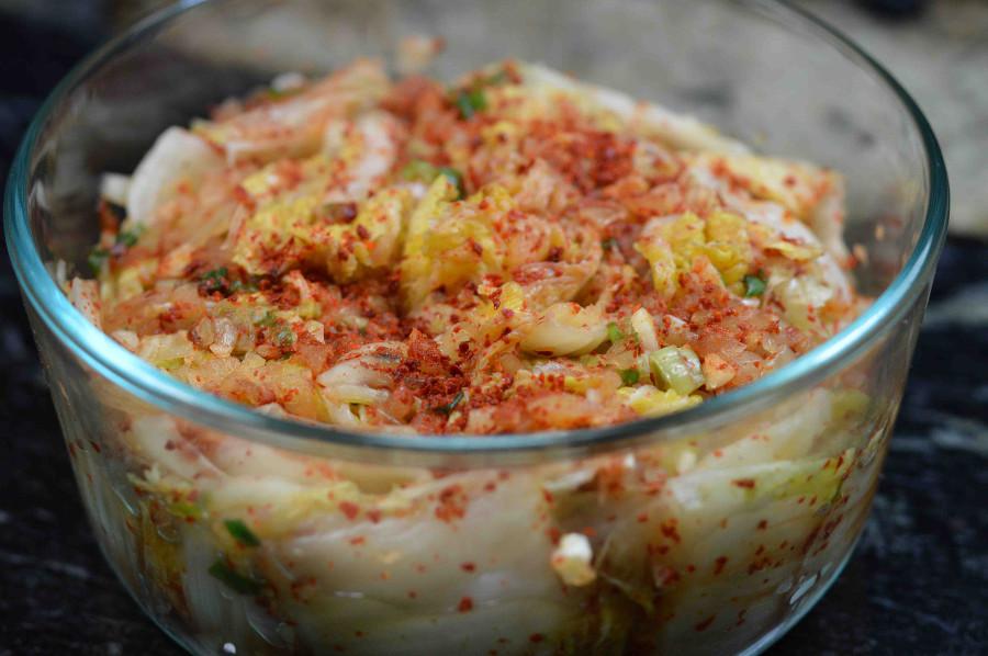 Home-made Korean Kimchi