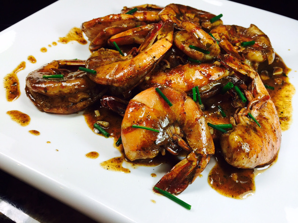 New Orleans BBQ shrimps