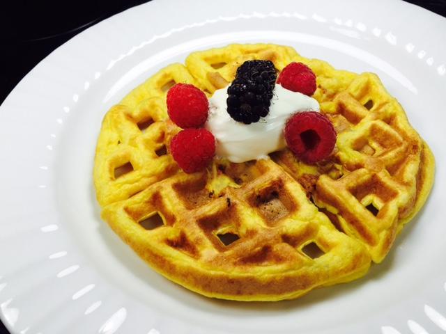 Eggy waffle