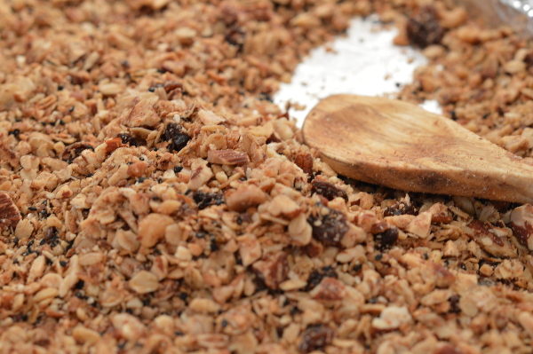 Home baked granola600x399