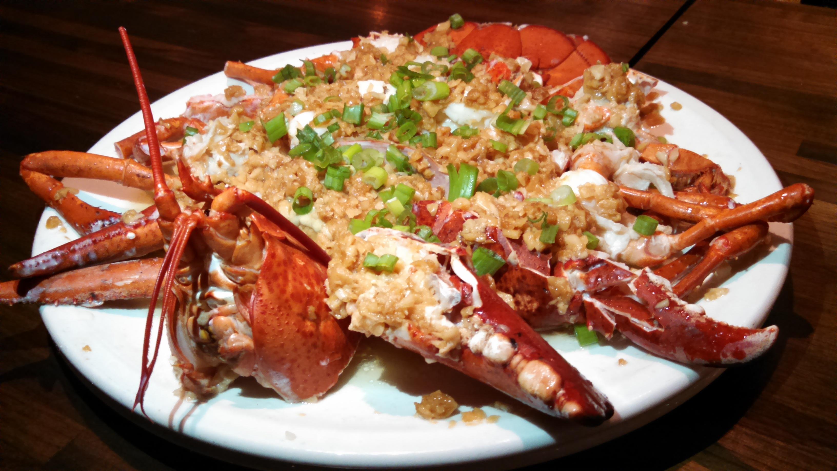 MYChina steamed garlic lobster