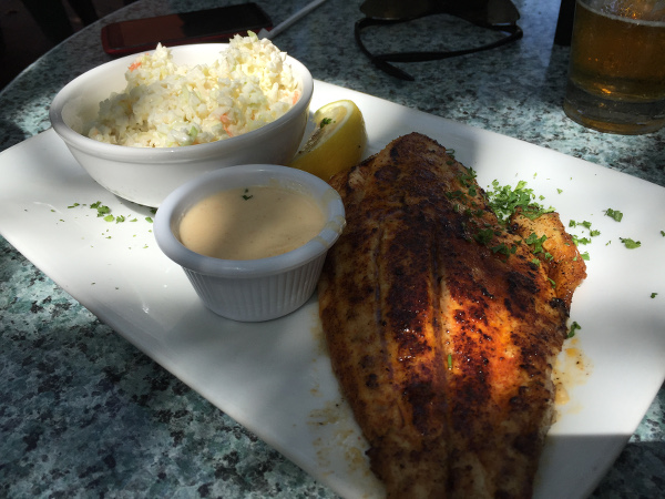 Blackened fish Harry's600x450