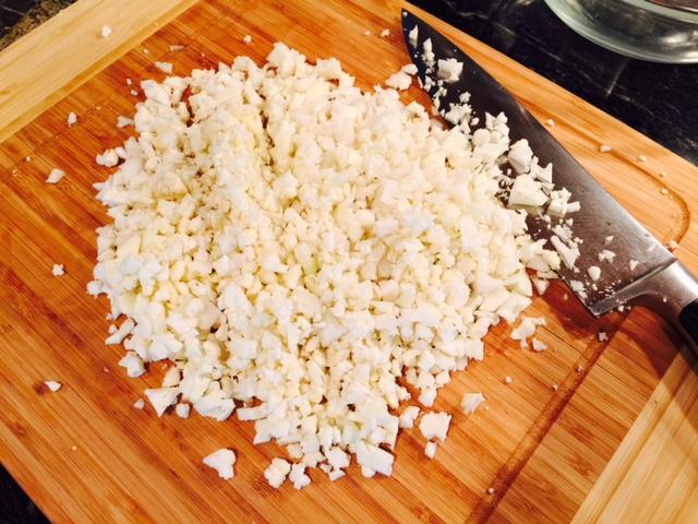 Cauli rice chopped1