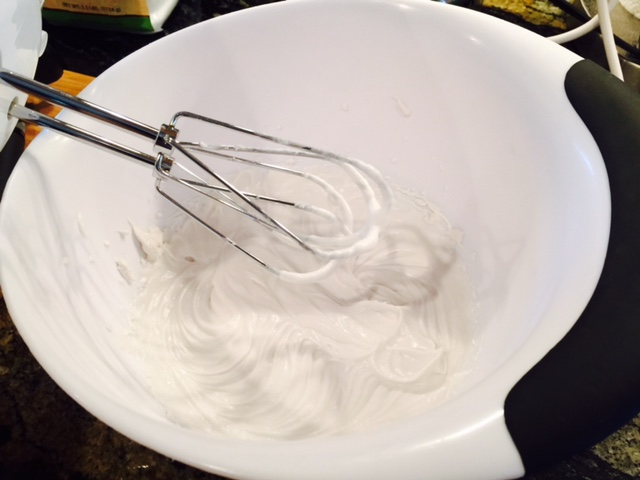 Coconut whipping