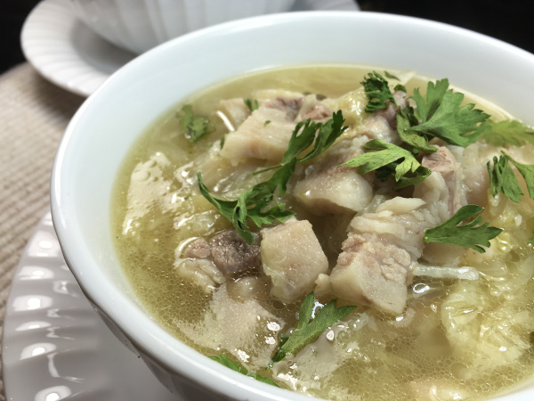 pork belly cabbage soup600x450