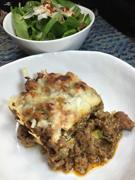 Lasagna plated450x600