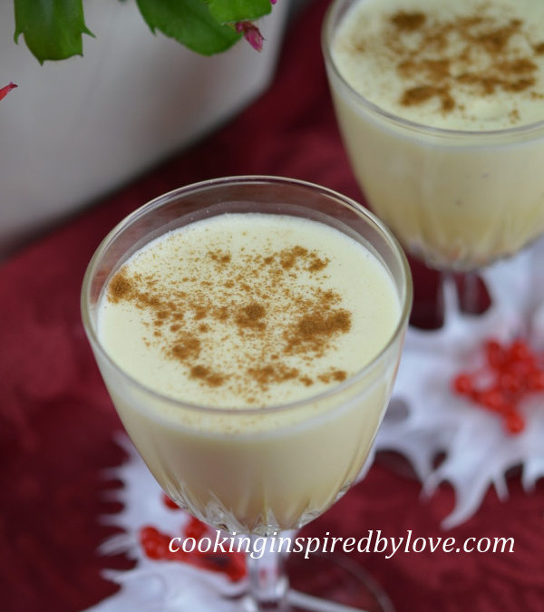 Christmas Low Carb Egg Nog