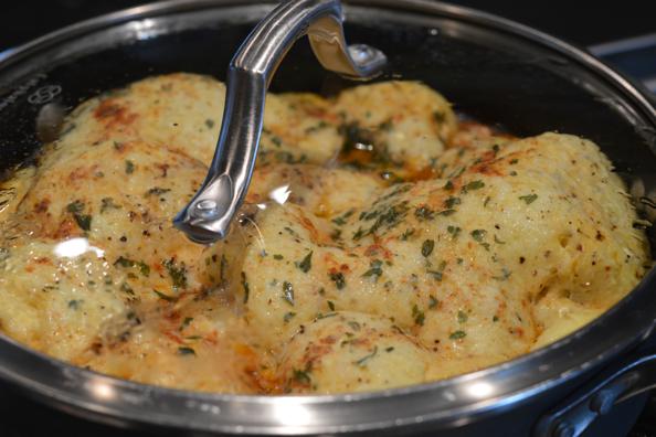Egg frittata pan covered