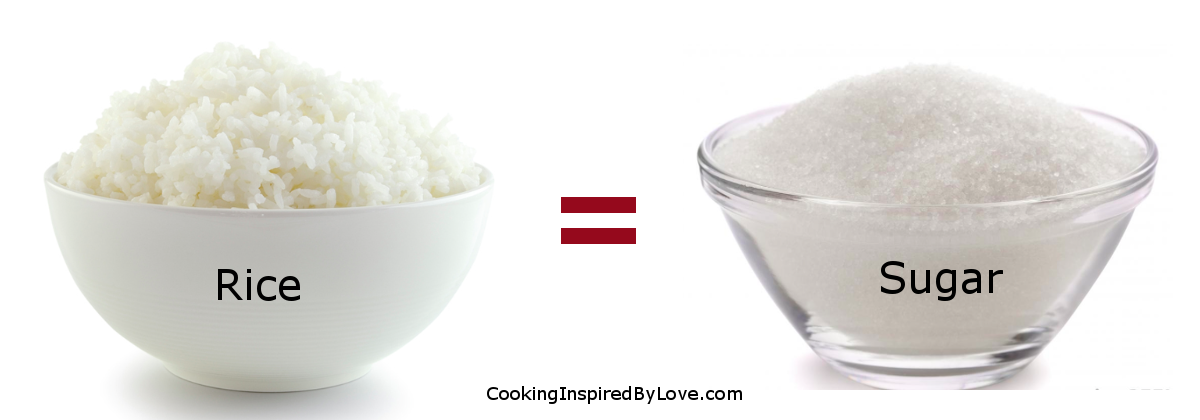 Rice=Sugar
