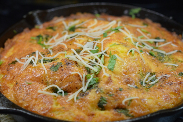 baked egg and cheese casserole600x399