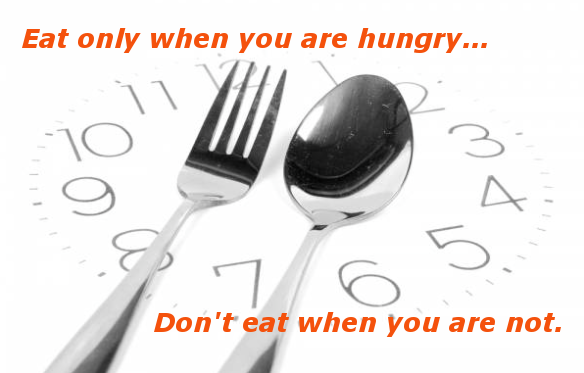 eat when hungry