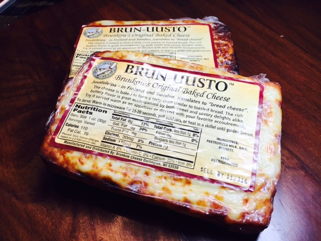 Grilled cheese Brun-uusto